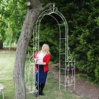 'Geraldine' Rose arch