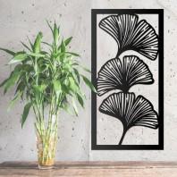 Ginkgo Tropical Leaf Wall Art