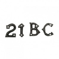1 ¾ Inch Iron Gothic Letters & Numerals