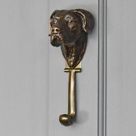 Great Dane Dog Door Knocker