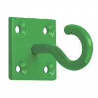 Green Wall Mounting Chain Hook