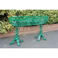 Green Highgate Free Standing Trough Planter