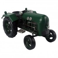 Green Scale Model Tractor
