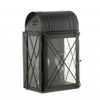 "Black ""Hampshire"" Wall Lantern"