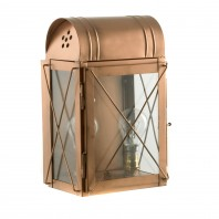 "Copper ""Hampshire"" Wall lantern"