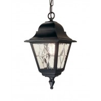 """Avebury Manor"" Hand Leaded 5 Panel Glass Hanging Lantern"
