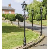Victorian Lamp Post - Black 2.3m