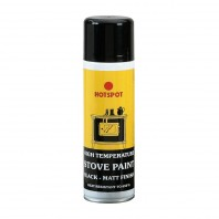 Heat Resistant Black Paint - 250ml