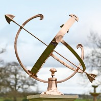 Polished Copper Armillary - 44cm