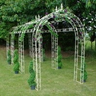 """Willow Winds"" Extra Large Rose Arch - Four Arches"