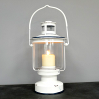 Industrial Lamp Candle Holder