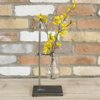 Industrial Style Flower Holder