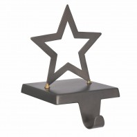 Iron Star Stocking Holder by Garden Trading