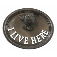 House Sign - Jack Russell - I Live Here