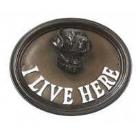 House Sign - Labrador - I Live Here