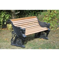"""Lady Amphora"" Garden Bench"