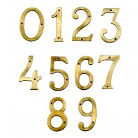 "6"" Numbers - Heavy Antique Big ''N'' Bold"
