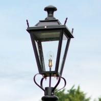 Black Dorchester Lantern 75cm