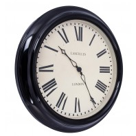"""Walker Court"" Wall Clock with Roman Numerals"