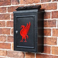"""Liver Bird Design"" Wall Mounted Post Box"