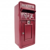 """Cherry Pie"" Slim King George Post Box"