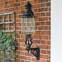 Belgravia Lantern and Royale Bracket 105 x 33cm
