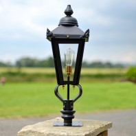 Victorian Pillar Light and Lantern Set 71cm