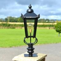 Victorian Pillar Light and Lantern Set 83cm