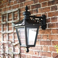 Large Victorian Top-Fix Wall Lantern 63 x 47.5cm