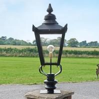 Victorian Pillar Light and Lantern Set 102cm