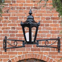 Hexagonal Bow Bracket Light