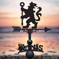 Lion & Staff Weathervane