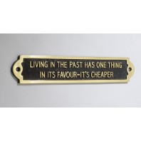 Living In The Past Has One Thing In Its Favor - Its cheaper