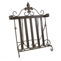 """Mary Beetons"" Cast iron cookbook stand"