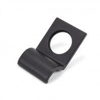Matte Black Rim Cylinder Door Pull