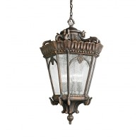 Medium Royal Antique Gold Hanging Lantern