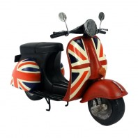 Model Scooter with Union Jack Design