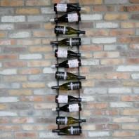 Modern & Industrial Wall Mounted Wine Rack