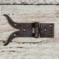 """Moustache"" Iron Hinge"