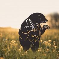 Black Mr Mole Silhouette