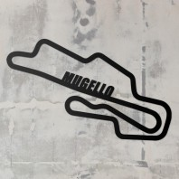 Mugello Race Track Steel Wall Art