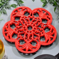 Trivet - Heavy Duty V1 Petal - Red