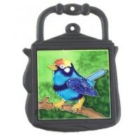 Kettle Trivet Blue Bird