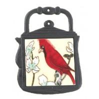 Kettle Trivet Red Bird