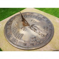 Old Father Time Sundial - 450mm