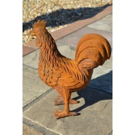 """Marshall Ranch"" Cast Iron Cockerel"