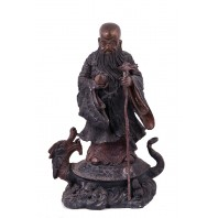 """Shou Xing"" God of Longevity Bronze Ornament"