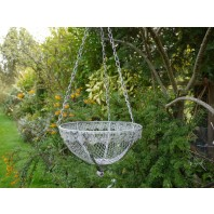 Ornate Patterned Hanging Basket