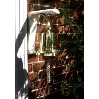 """4"""" Brass Bell with Rope Lanyard"""