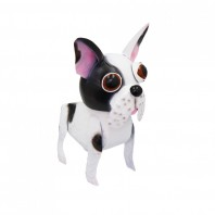 Painted French Bulldog Garden Ornament